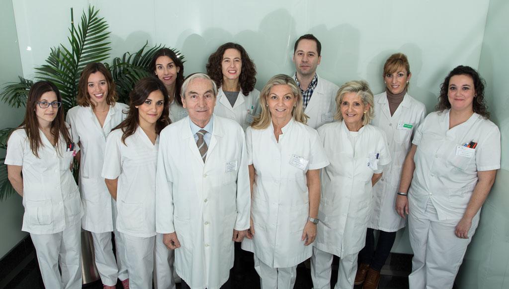 Clinical Lopez Menendez equipo de trabajo